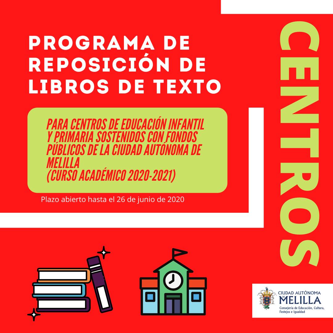 Programa de reposición de libros de texto