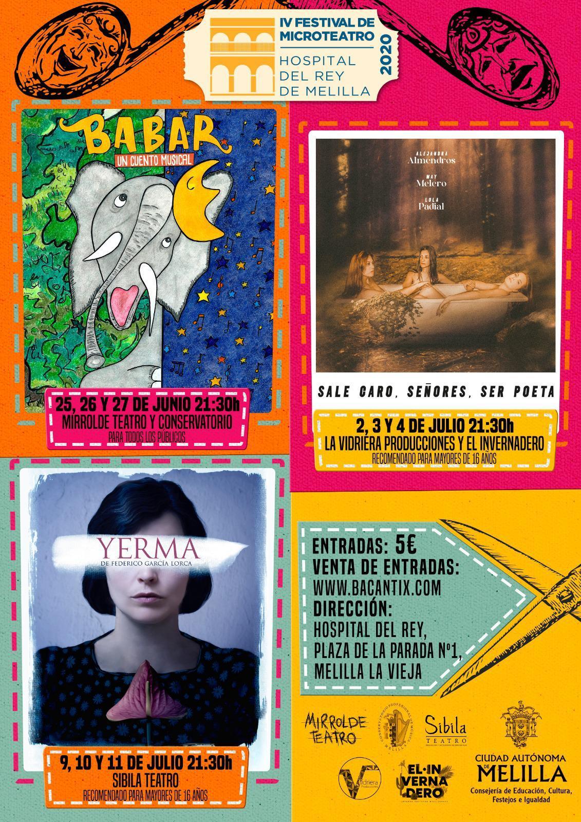 Festival de Teatro del Hospital del Rey, un reencuentro de altura con las Artes Escénicas.