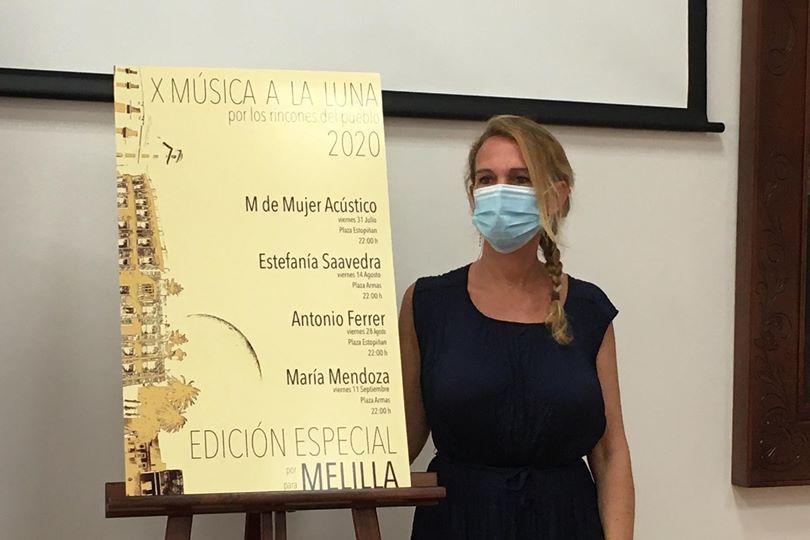 X MÚSICA A LA LUNA 2020, edición especial por y para Melilla.