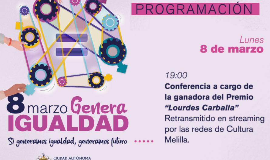 Conferencia de la ganadora del Premio Lourdes Carballa 2021: Rosa Narváez Ferre